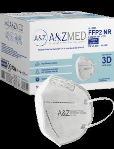 Respirator AZMED PREMIUM FFP2 CE 2163